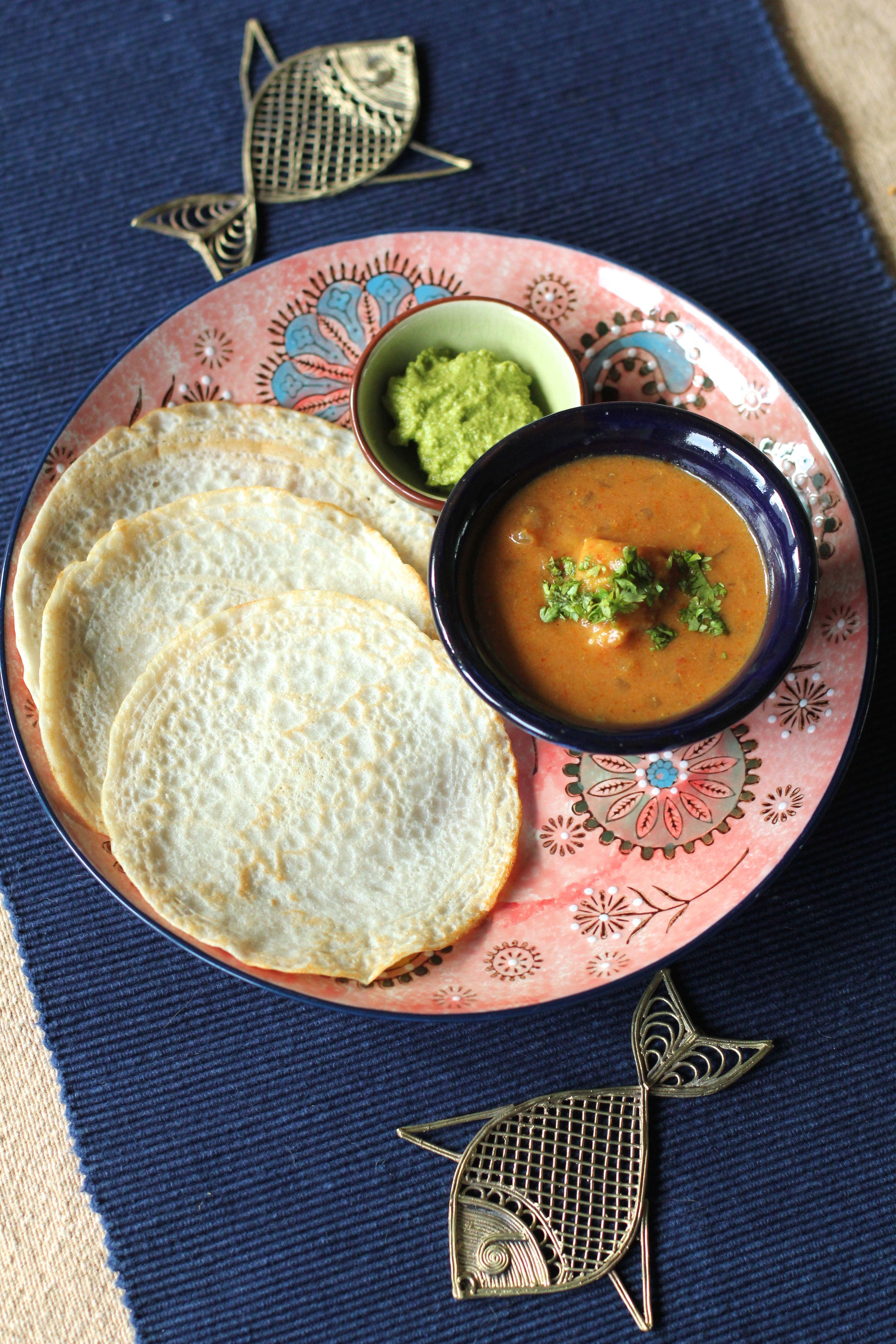 Malvani fish with amboli
